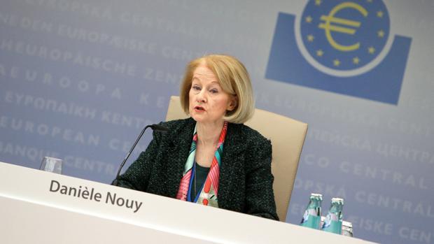 Danielle Nouy, presidenta del consejo de supervisión del BCE
