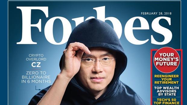 Changeng Zhao, conocido como 'CZ, tercera fortuna en criptomonedas y cofundador de la plataforma Binance