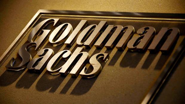 Letrero en la recepción de las oficinas de Goldman Sachs en Australia.