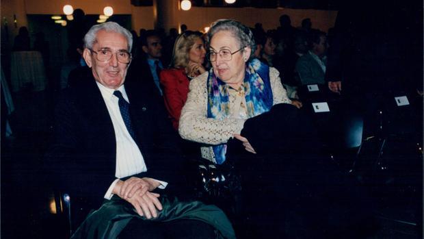 Imagen de archivo de Marcelino Camacho y su mujer Josefina Semper