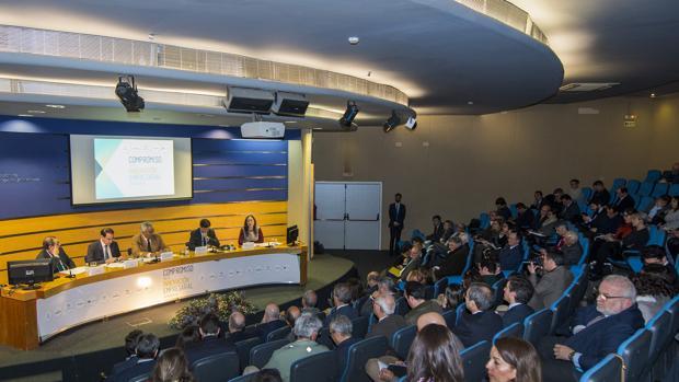 La jornada se celebró en la sede de la Confederación de Empresarios de Andalucía
