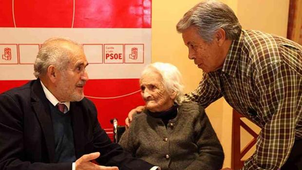 Demetrio Madrid, Encarna Garijo y Ángel Martín