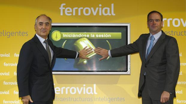 Rafael del Pino e Íñigo Meiras en una foto de archivo