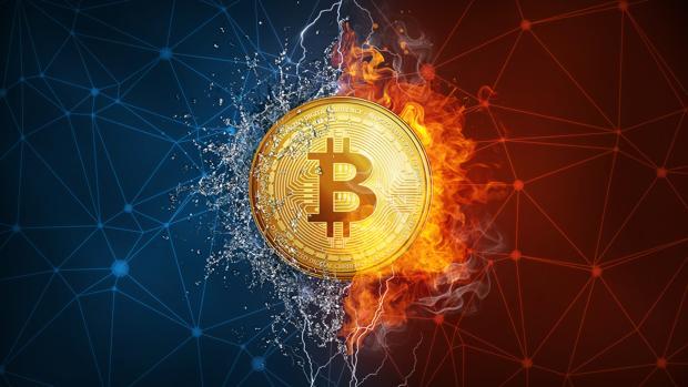 El bitcoin cayó ayer de los 10.000 a los 9.000 dólares en una hora
