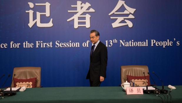 El ministro de Asuntos Exteriores chino, Wang Yi