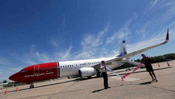 Avión de Norwegian