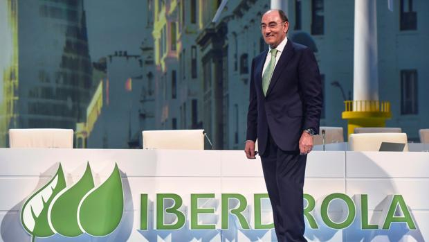 Ignacio Galán, en la reciente junta de accionistas de la eléctrica