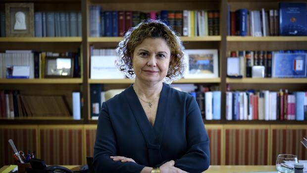 María Emilia Adán, decana del Colegio de Registradores
