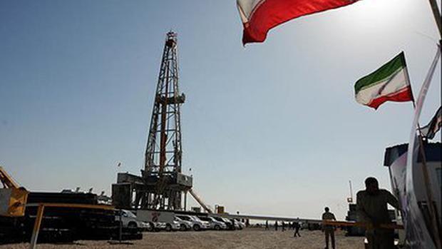 Yacimiento petrolífero en Irán