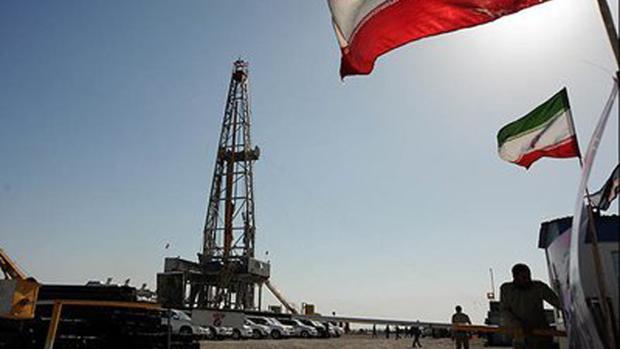 Yacimientos petrolíferos en Irán
