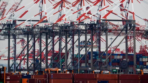 Puerto de Newark, uno de los más grandes de EE.UU.