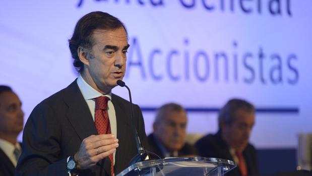 El presidente de OHL, Juan Villar-Mir de Fuentes