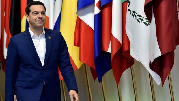 Alexis Tsipras, primer ministro griego, en una de sus últimas visitas a Bruselas