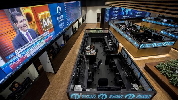 Vista de la Bolsa de EStambul