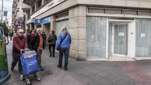 En 2017 los bancos europeos cerraron 5.900 sucursales