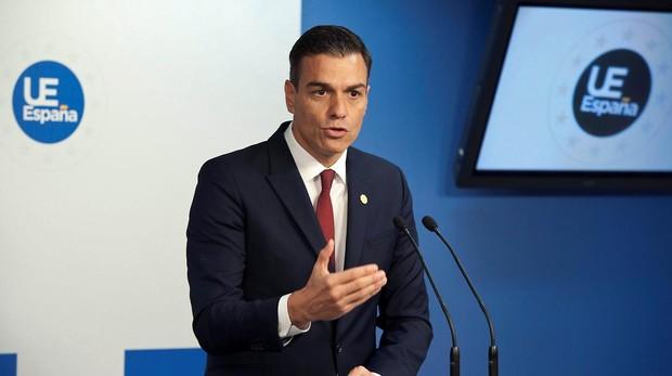 El presidente de Gobierno, Pedro Sánchez