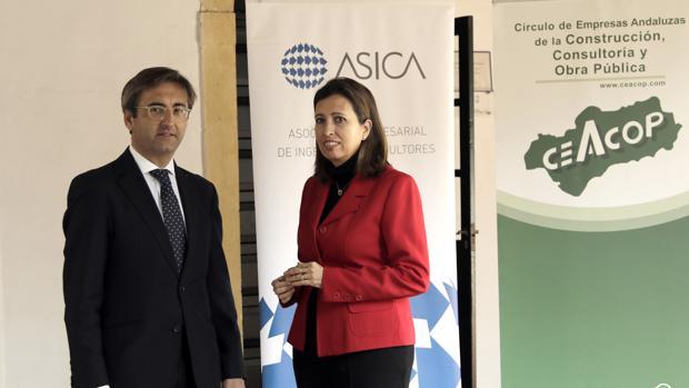 Ignacio de Mora, presidente de Asica, y Ana Chocano Román, presidenta de Ceacop