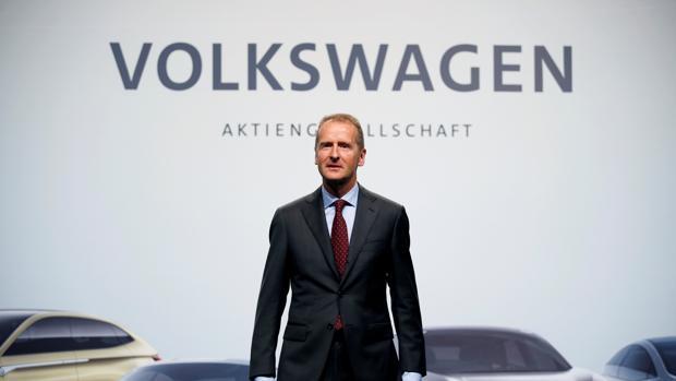 Herbert Diess es CEO de Volkswagen desde hace poco más de medio año