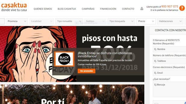 Página web de Casaktua