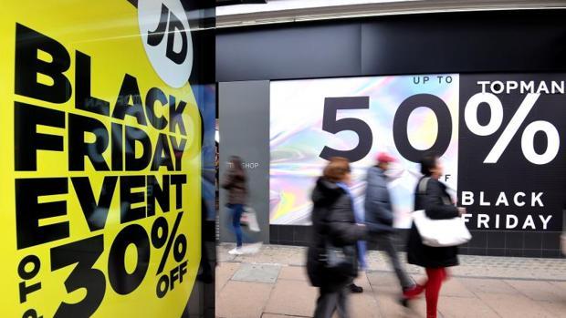 Algunos comercios ofrecen grandes descuentos durante el Black Friday 2018