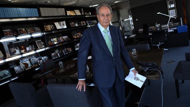 Juan Miguel Villar-Mir, presidente del Grupo Villar-Mir