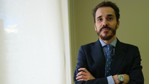 Fernando Matesanz, director de Spanish VAT Services Asesores, durante la entrevista con ABC