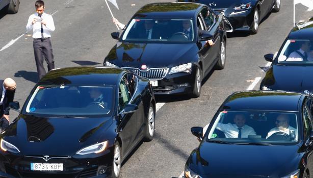 El número de licencias de Uber y Cabify se duplicó en 2018