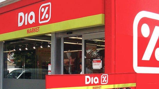 Imagen de archivo de un supermercado del grupo Dia
