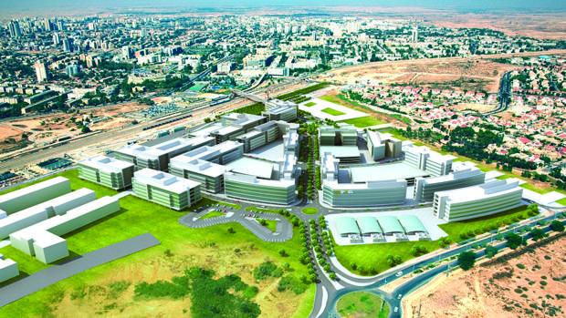 En el complejo de Beerseba convivirán emprendedores, estudiantes y la inteligencia militar