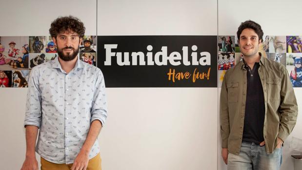 Antonio Escartín (izda) y Carlos Larraz (dcha), cofundadores de la compañía