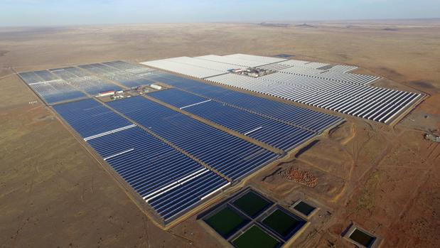Planta solar de Abengoa en Sudáfrica