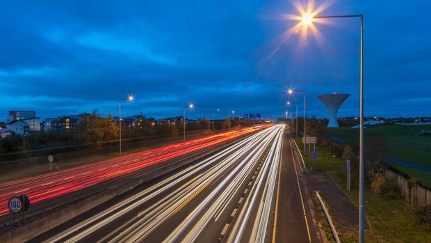 La concesión irlandesa M50 Concession Limited ha desarrollado un proyecto innovador de reducción energética en el sistema de alumbrado de la autopista