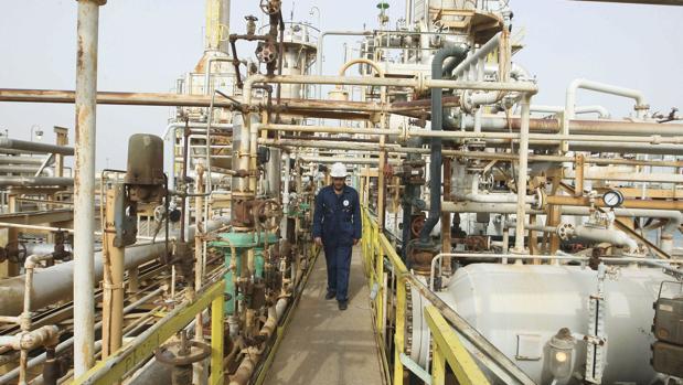 Refinería en Libia
