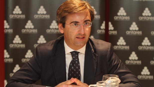 Ignacio Sánchez de Mora durante una rueda de prensa