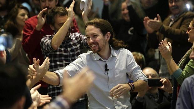 Pablo Iglesias, en La Coruña