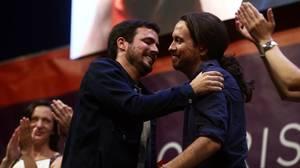 Izquierda Unida y Podemos no sacan rentabilidad a su coalición y pierden más de un millón de votos respecto al 20-D