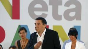 Otegui afirma que liderará el proyecto de EH Bildu «hagan lo que hagan los tribunales españoles»