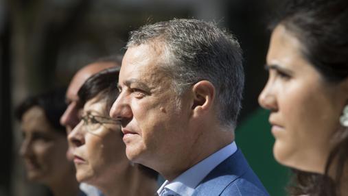 Urkullu, en un acto electoral del PNV