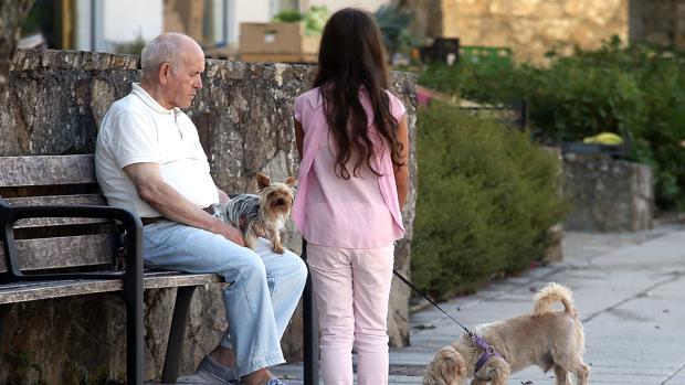 Un 25 por ciento de los gallegos tiene más de 65 años