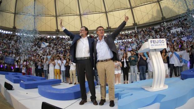 ELECCIONES EN GALICIA 2016:  Mariano Rajoy, ese «telonero de lujo»