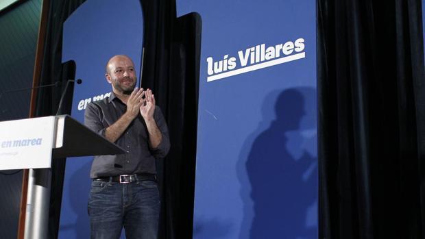 El candidato de En Marea a la Xunta de Galicia, Luis Villares