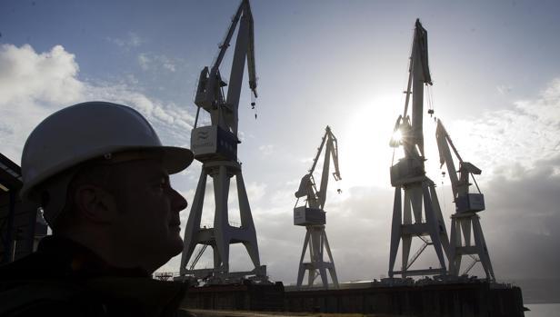 La apuesta por la eólica marina en el caso de los astillero ferrolanos supone 500 millones en proyectos