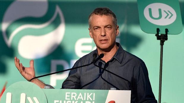 Íñigo Urkullu, candidato del PNV a lendakari