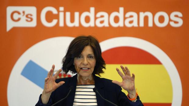 La candidata de Ciudadanos a la Xunta de Galicia, Cristina Losada
