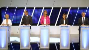 Los momentos más tensos del debate entre los candidatos a lendakari
