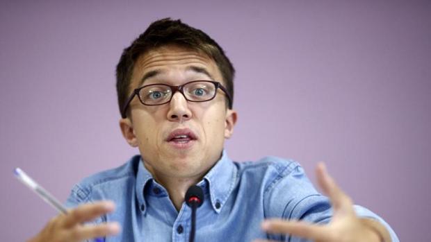 Iñigo Errejón , durante una comparecencia ante los medios este mes de septiembre