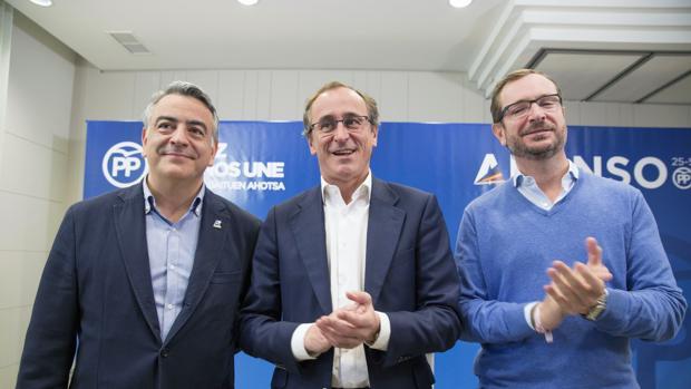 El candidato a lendakari del PP, Alfonso Alonso