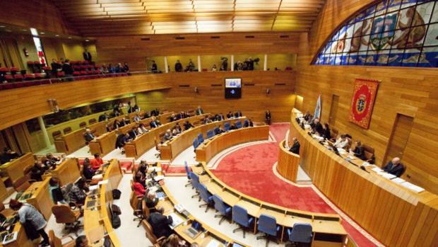 Vista general de la Cámara gallega