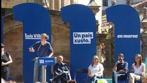Errejón espolea la gris campaña de En Marea para «dar una cura de humildad» al PP