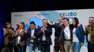 Feijóo se lanza a por los votos de los descontentos con los socialistas gallegos